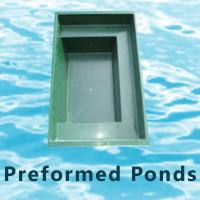 Fibreglass ponds garden ponds preformed ponds fish for Premade koi ponds